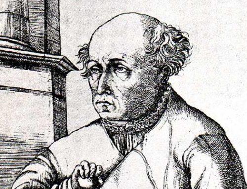 Theophrastus Bombast von Hohenheim, vermutlich 1493 oder 1494-†24. 09.1541