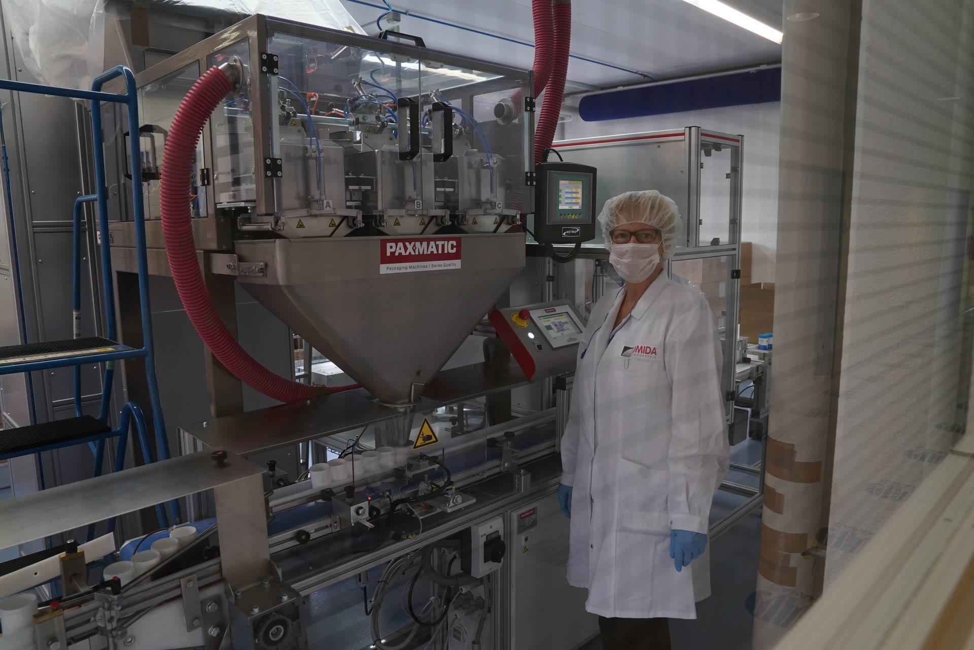 Omida Heilmittelherstellung in der eigenen Produktion